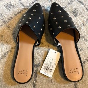 A New Day studded mules